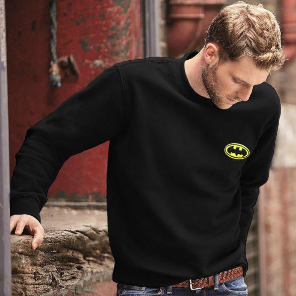 Batman trui sfeerfoto