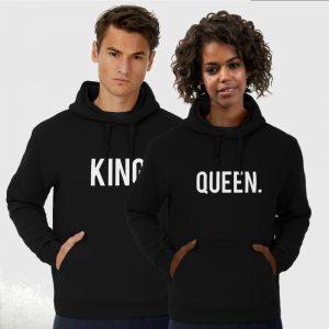 King Queen hoodie classic