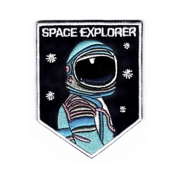 Astronaut Patch Space Explorer