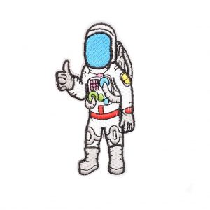 Astronaut Patch Thumbs Up
