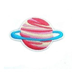 Space Patch Roze Planeet